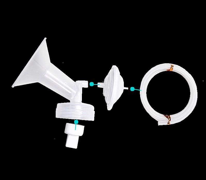 SPECTRA Single Wide Breast Shield Set