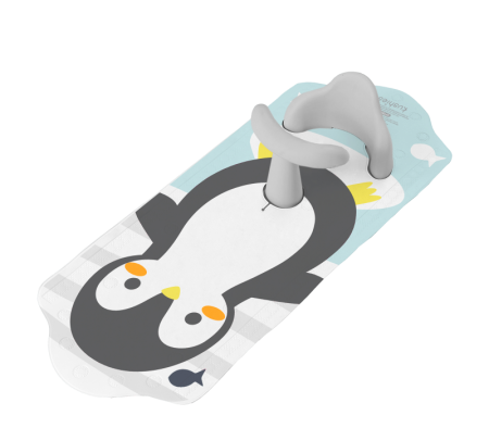 KUSHIES Aqua Splash Bath Mat Penguin