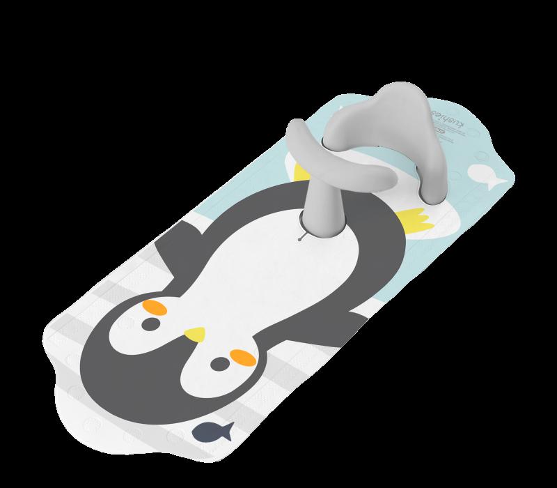 KUSHIES Aqua Splash Bath Mat Penguin