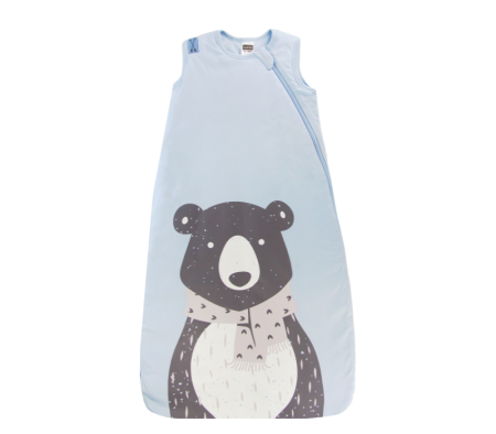 KUSHIES Sleepbag Baby 0+ / Toddler 6-18 months Lt. Blue Bear