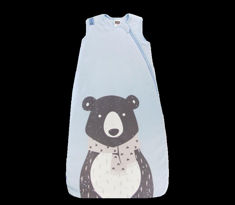 KUSHIES Sleepbag Baby 0+ / Toddler 6-18 months Lt. Blue Bear