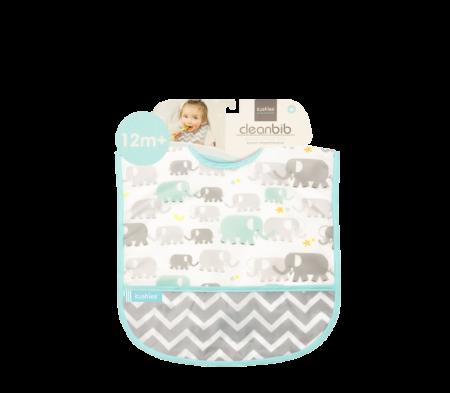 KUSHIES Cleanbib Toddler (12M+)  White Elephants