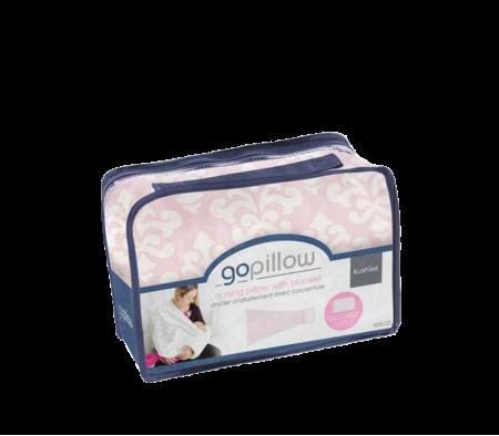 KUSHIES GoPillow Wearable Breastfeeding Pillow Pink
