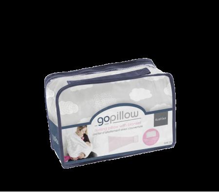 KUSHIES GoPillow Wearable Breastfeeding Pillow Grey