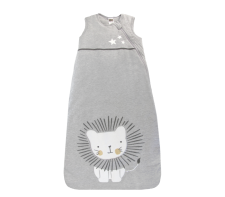 KUSHIES Sleepbag Baby 0+ / Toddler 6-18 months Grey Lion