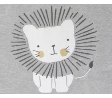KUSHIES Sleepbag Baby 0+ / Toddler 6-18 months Grey Lion