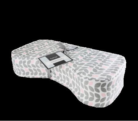 KUSHIES Nursing Pillow Petal Grey