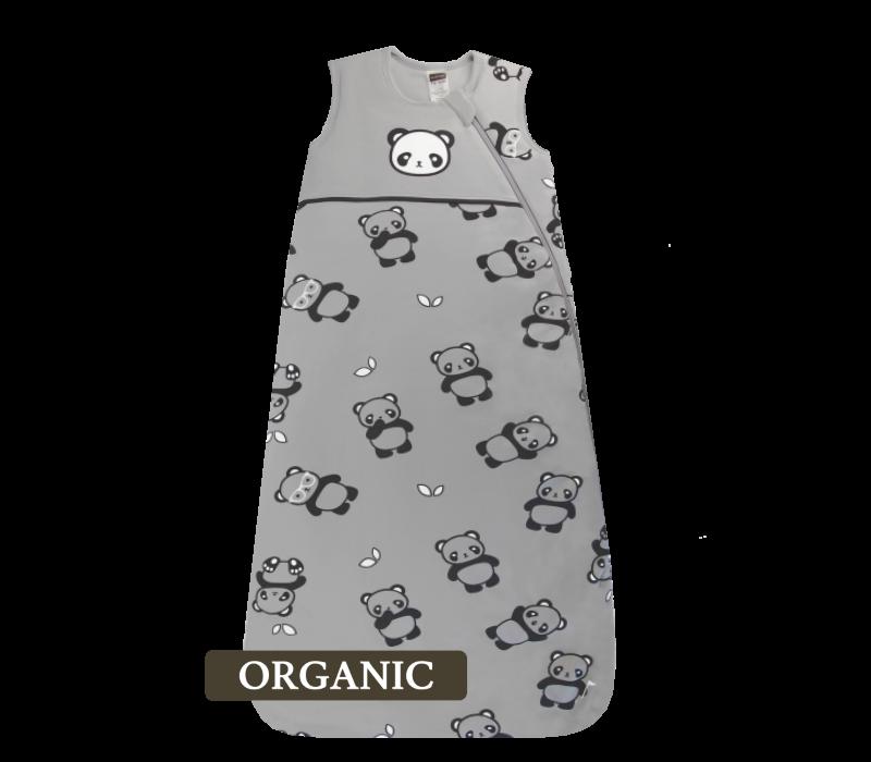 KUSHIES Organic Sleepbag Baby 0+ / Toddler 6-18 months Grey Panda
