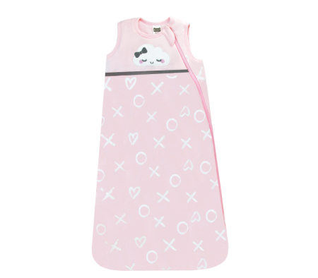 KUSHIES Sleepbag Baby 0+ / Toddler 6-18 months Lt. Pink Xo