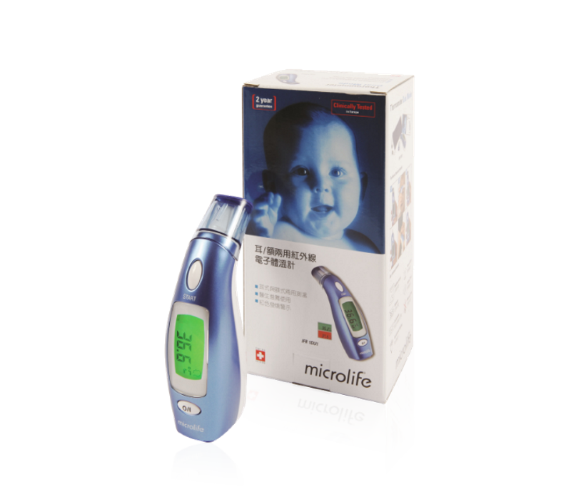 MICROLIFE IFR 1DU1 Ear / Forehead Thermometer