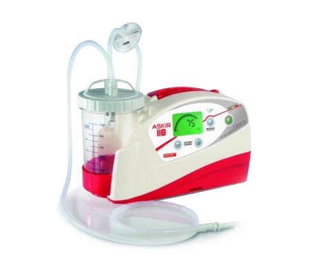 NEWASKIR 118 Suction Machine