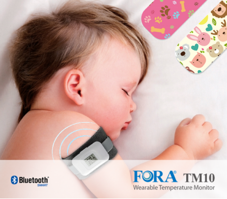 FORA TM10 Wearable Temperature Monitor